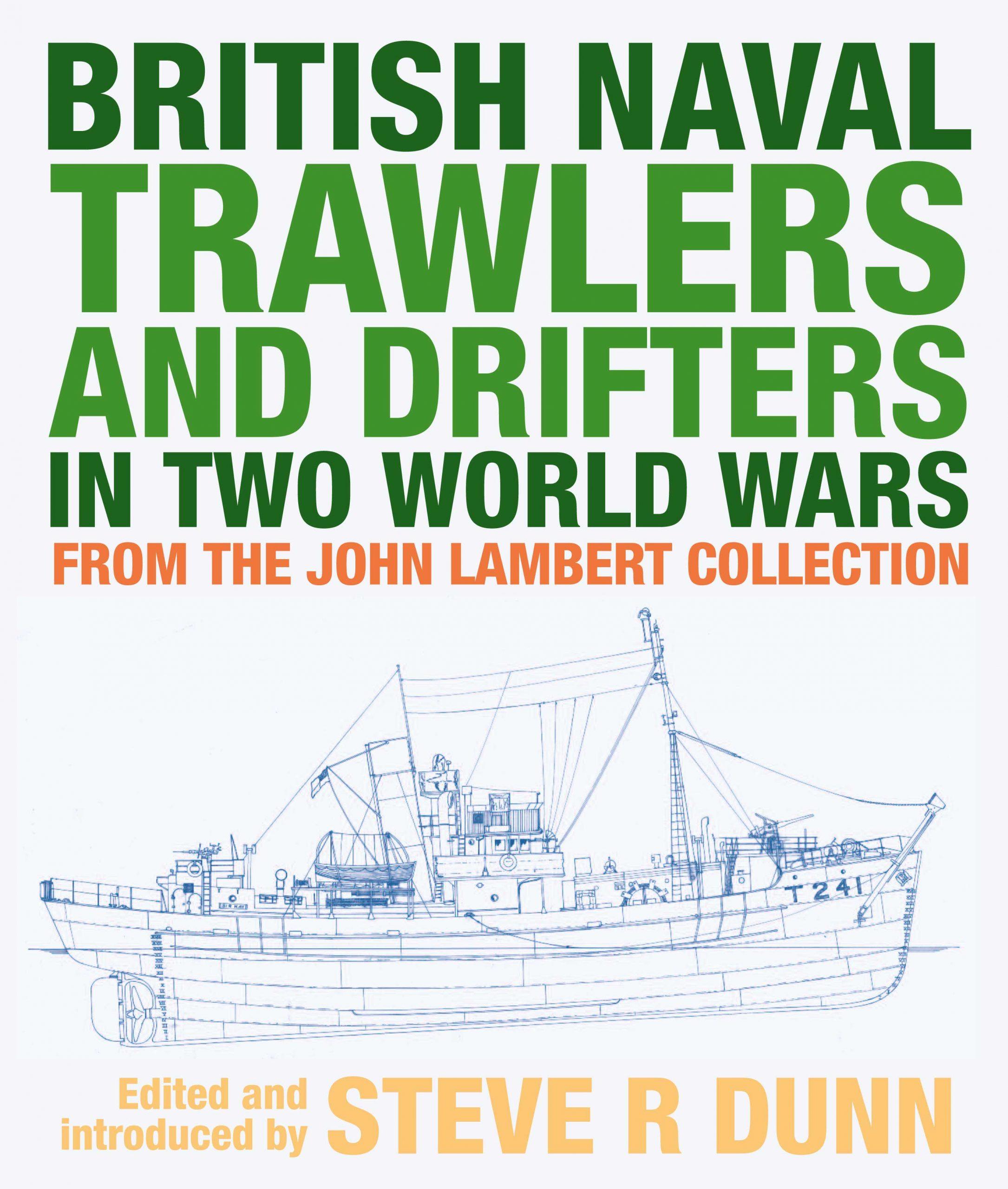 British Naval Trawlers Book Cover